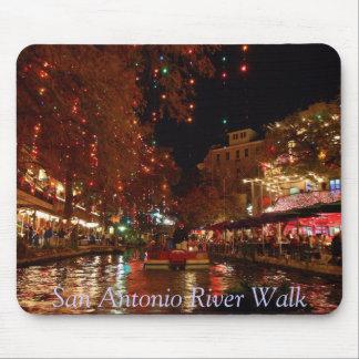 San Antonio River Walk Mouse Pad