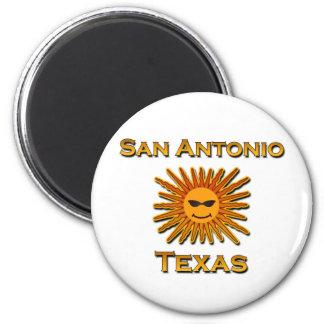 San Antonio Sun Icon Magnet