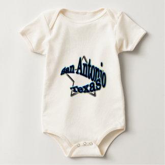 San Antonio. Texas Baby Bodysuit