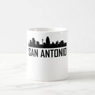 San Antonio Texas City Skyline Coffee Mug
