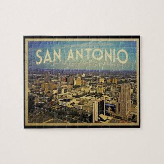 San Antonio Texas Skyline Jigsaw Puzzle