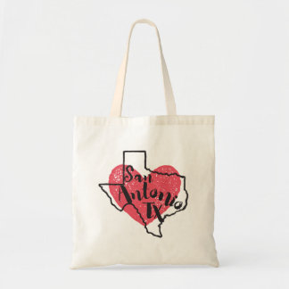 San Antonio Texas State Tote Bag