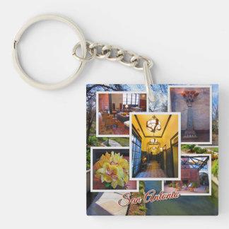 San Antonio Texas Travel Photos Keychain