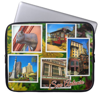 San Antonio Texas Travel Photos Laptop Sleeve