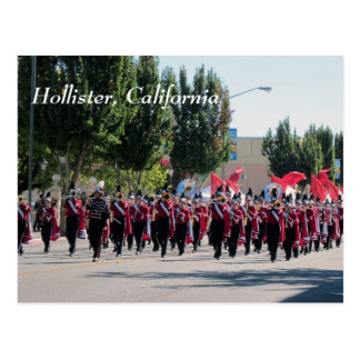 San Benito High School Homecoming Parade Postcard