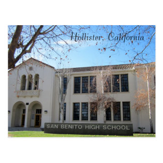 San Benito High School Postcard