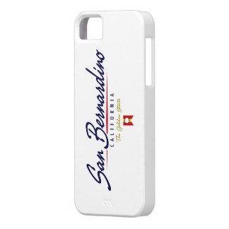 San Bernardino Script iPhone 5 Covers