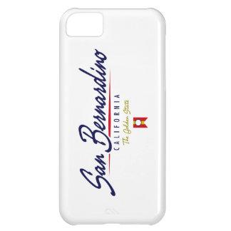 San Bernardino Script iPhone 5C Covers