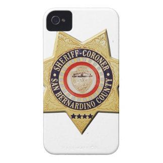 San Bernardino Sheriff-Coroner iPhone 4 Covers