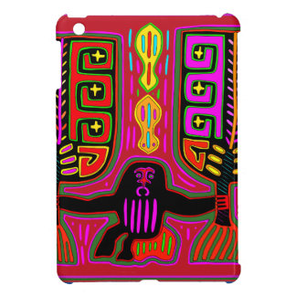 San Blas Kuna Man with Fans iPad Mini Covers