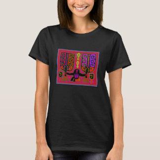 San Blas Kuna Man with Fans T-Shirt