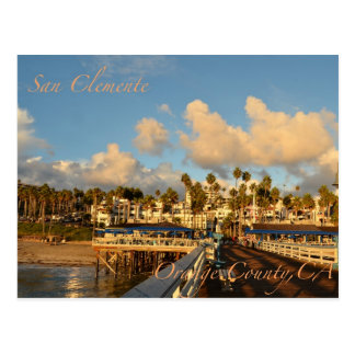 San Clemente California Post Card