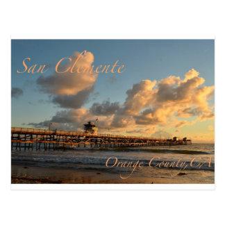 San Clemente California Postcard