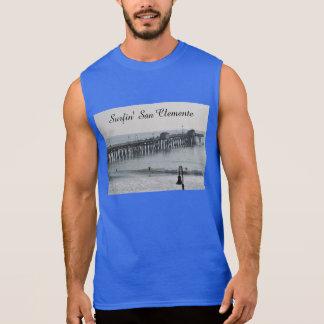 San Clemente California Sleeveless Shirt