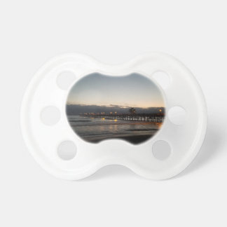 san clemente pier night time ocean california pacifier