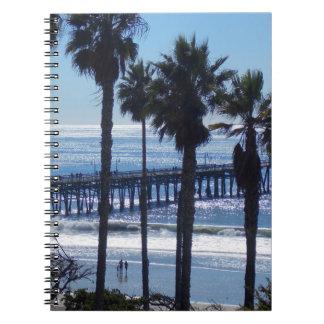 San Clemente Pier Notebook