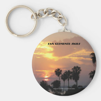 San Clemente Skies - Key Chain Oct.