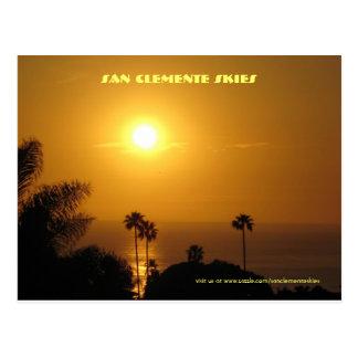 San Clemente Skies - Postcard