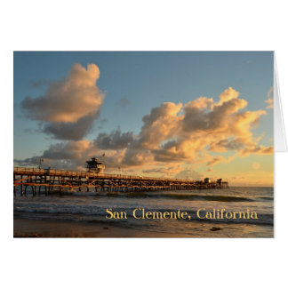 San Clemente Sunset Card