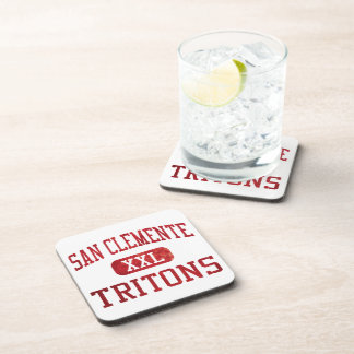 San Clemente Tritons Athletics Beverage Coasters