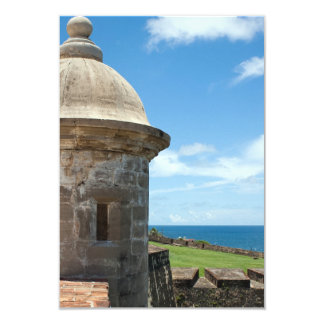San Cristobal Fort Tower Card