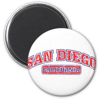 San Diego Athletic 2 Inch Round Magnet