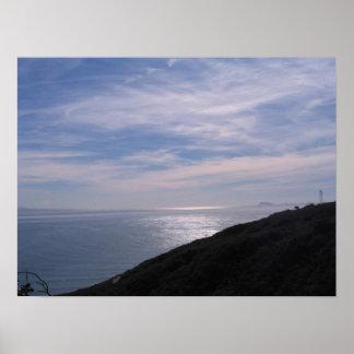 San Diego Bay near Coronado Poster
