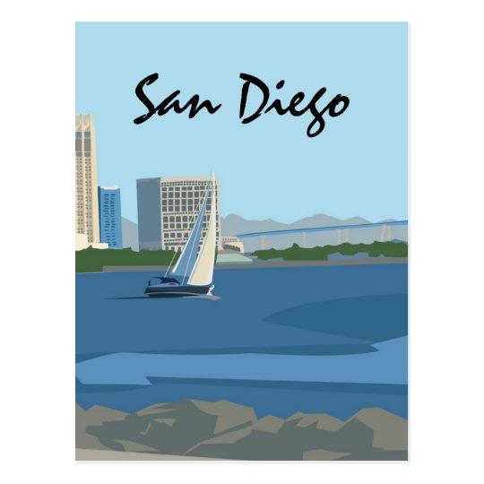 San Diego Bay Postcard