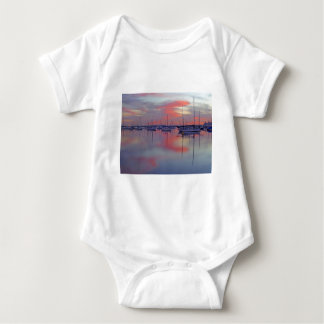 San Diego Bay Seen From The Airport Baby Bodysuit