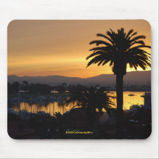 San Diego Bay Sunrise Mouse Pad
