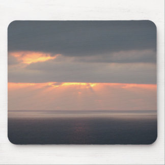 San Diego Beach Sunset Mouse Pad