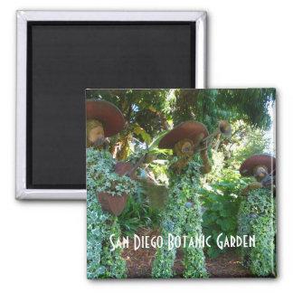 San Diego Botanic Garden Square Magnet
