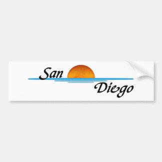 San Diego Car Bumper Sticker
