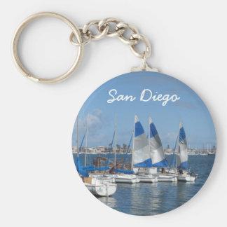 San Diego, CA Keychain