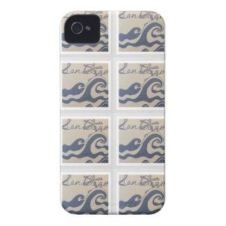 San Diego, CA love design pattern iPhone 4 Cover