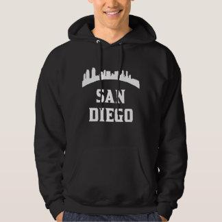 San Diego CA Skyline Hoodie