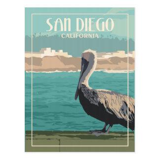 San Diego CA - Vintage Travel Postcard