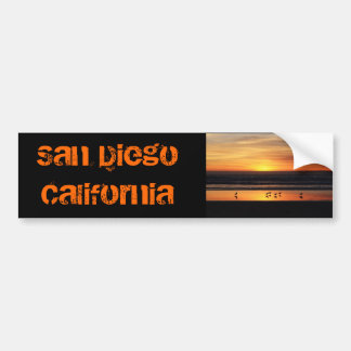 San Diego     California Bumper Sticker
