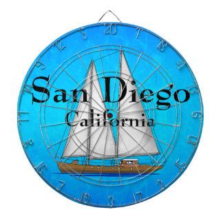 San Diego California Dartboard