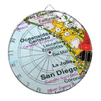 San Diego, California Dartboard