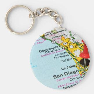 San Diego, California Keychain