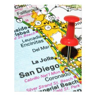 San Diego, California Letterhead