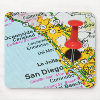 San Diego, California Mouse Pad