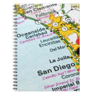 San Diego, California Notebooks