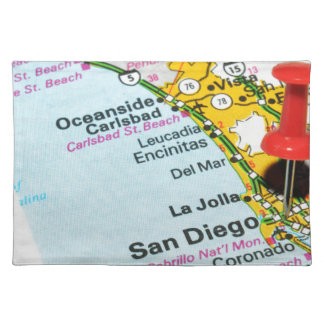 San Diego, California Placemat