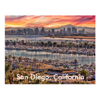 San Diego, California Postcard