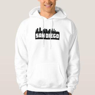 San Diego California Skyline Hoodie