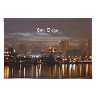 San Diego, California skyline Placemat