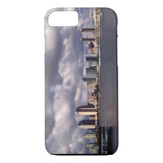 San Diego California Skyline & Storm iPhone 7 Case