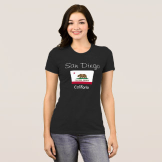 San Diego California -- T-shirt